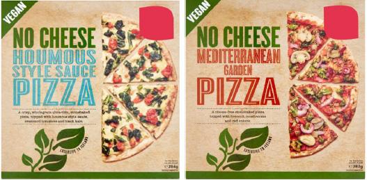 Innköllun á vegna pizzum