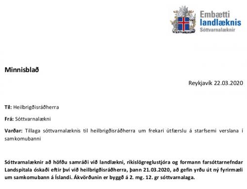 Hvernig virkar samkomubannið fyrir verslanir (uppfært 23. mars 2020)