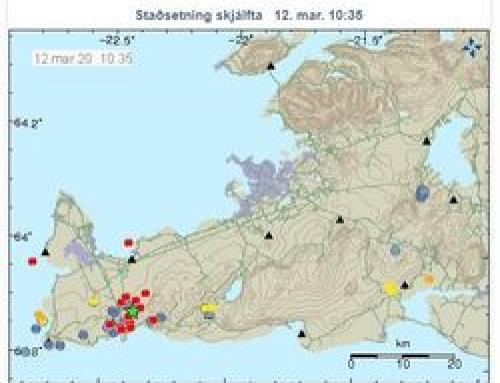 Stór skjálfti við Grindavík