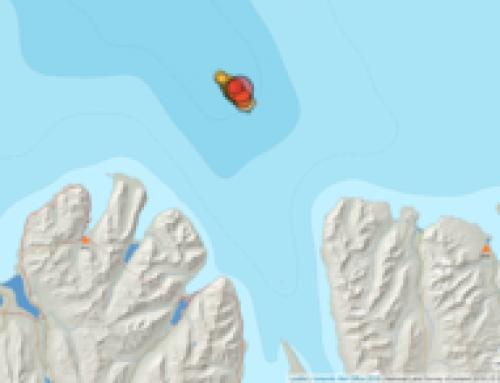 Jarðskjálftahrina 20 km norðaustur af Siglufirði