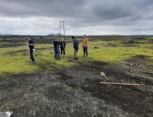 Samvinna í lagfæringu á gróðurskemmdum