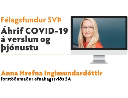 Félagsfundur: Áhrif COVID-19 á verslun og þjónustu