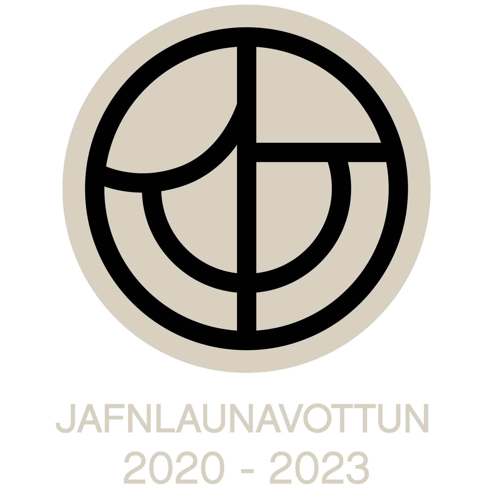 Jafnlaunavottun 2020-2023 merki